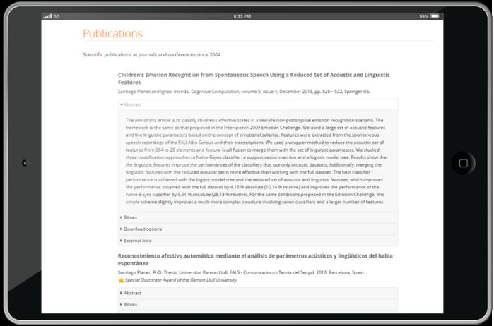 Bloques de texto interactivos