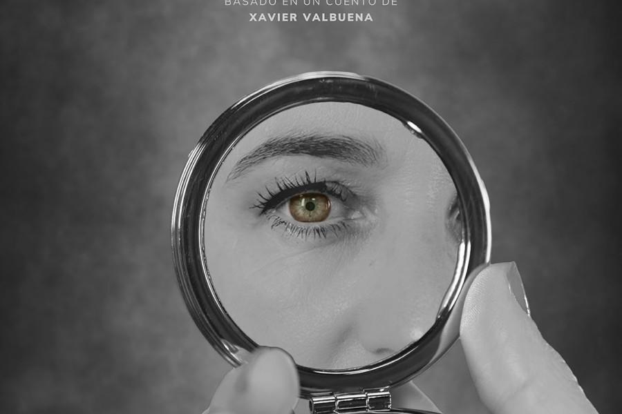 Cartel del cortometraje La mujer invertida (Santi Planet, 2020)